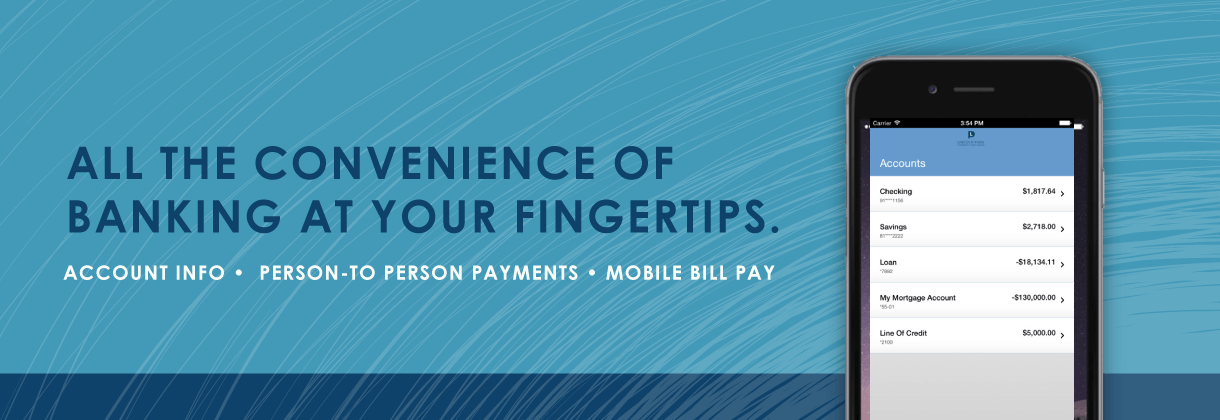 All the convenience of banking at your fingertips.