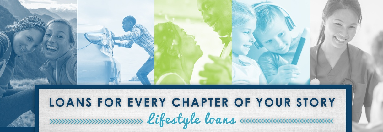 A loan for every chapter in your story.